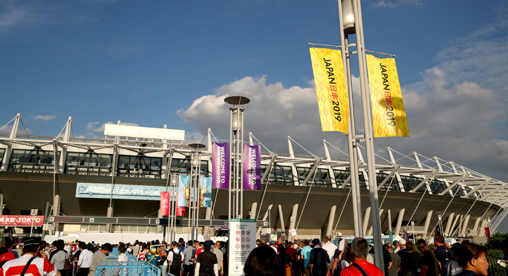 Just four per cent of RWC tickets left as global fans flock to Japan, with England supporters dominant