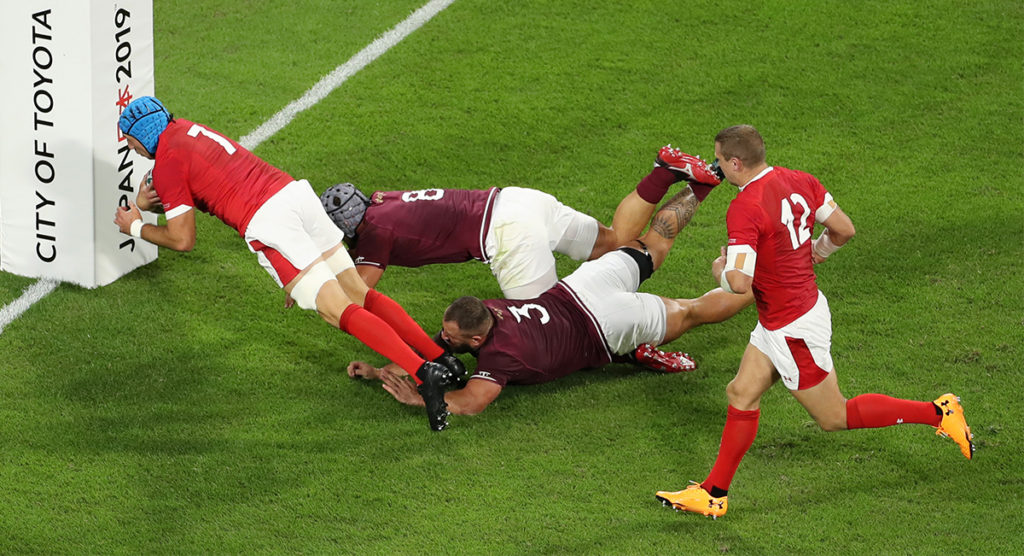Wales's attack impresses after hectic week of turmoil