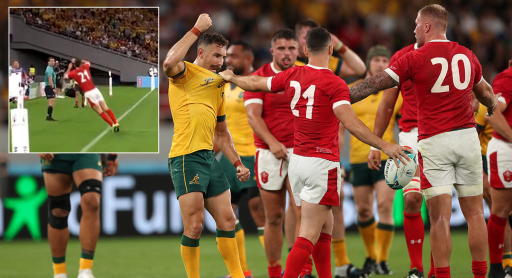 The cat-like acrobatics that won Wales the match