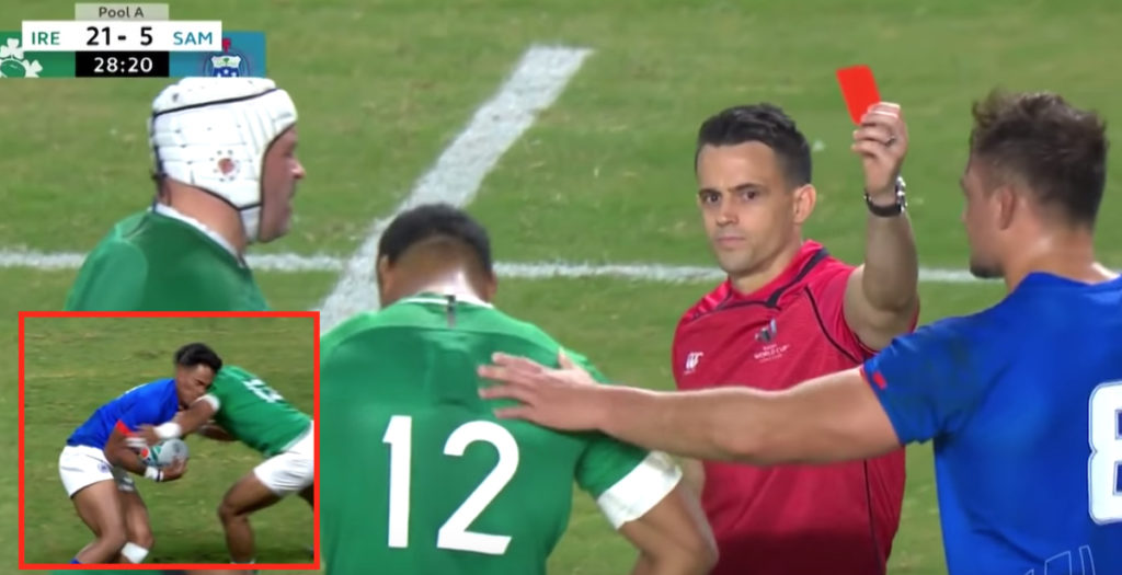 WATCH: Bundee Aki the latest red card offender