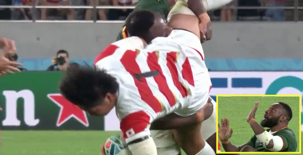 Mtawarira tackle brews controversy in World Cup quarter against Japan