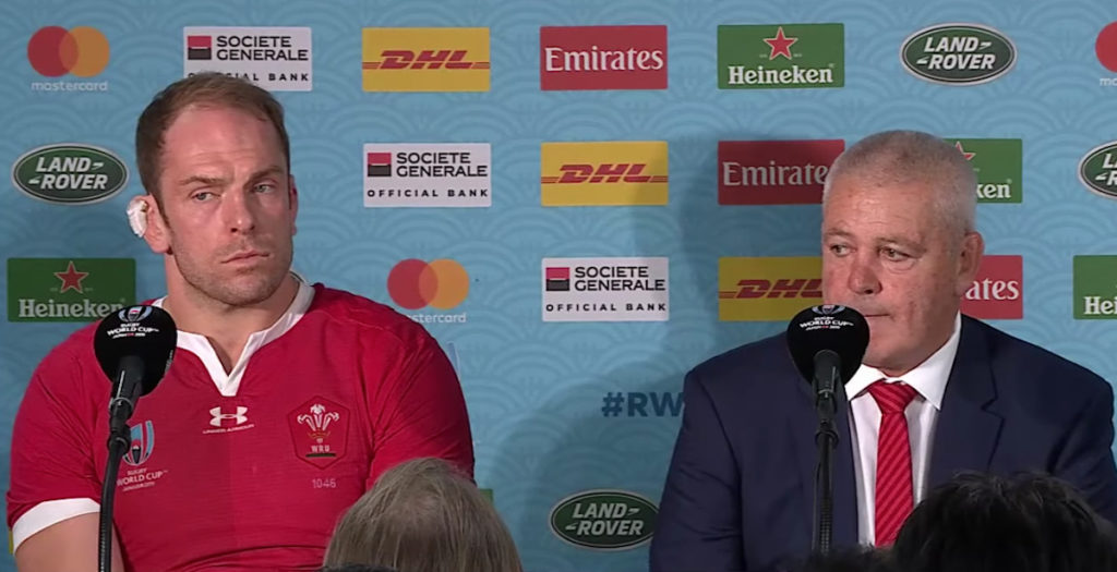Gatland and Wyn Jones give heartfelt reaction to Springbok loss