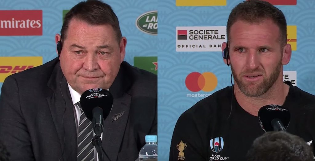 Hansen and Read dejected in cagey post-England press conference