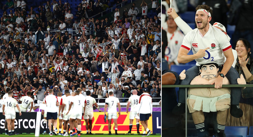 England fans full of confidence after semi-final displays leave them happy to play South Africa