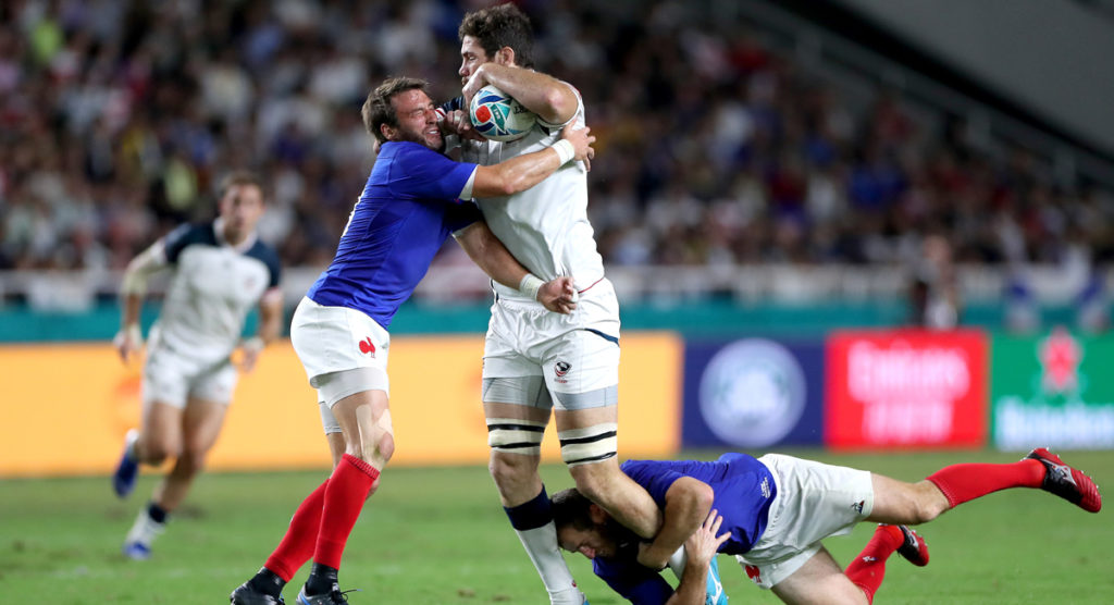 France come right in second half to win comfortably over USA