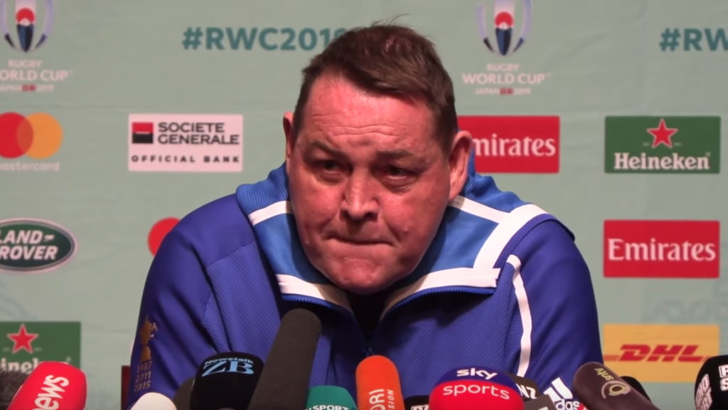 Steve Hansen gives classic response to Eddie Jones claims that England were spied on