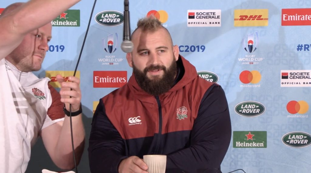 Media can't get straight answer out of Joe Marler or Dan Cole in hilarious final press conference