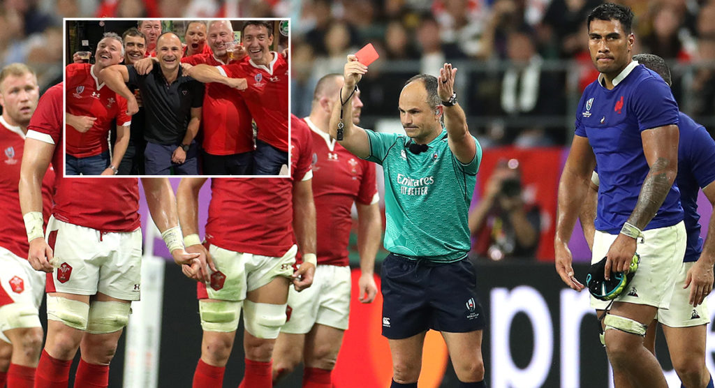 Referee Jaco Peyper is being investigated after foolish photo goes viral