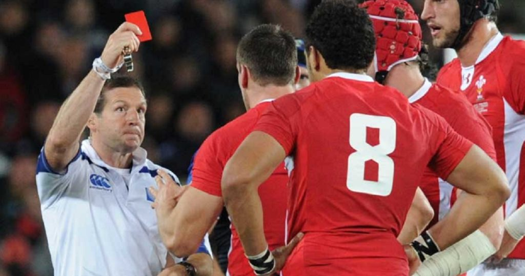 THROWBACK THURSDAY: The Red Card that divided fans and all but ruined Wales' 2011 RWC campaign