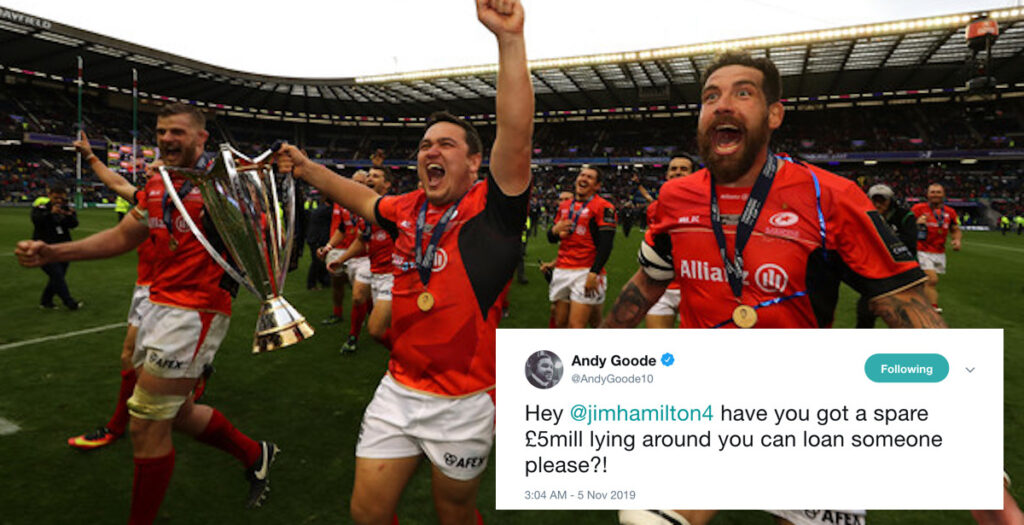 Saracens salary cap: How Twitter reacted