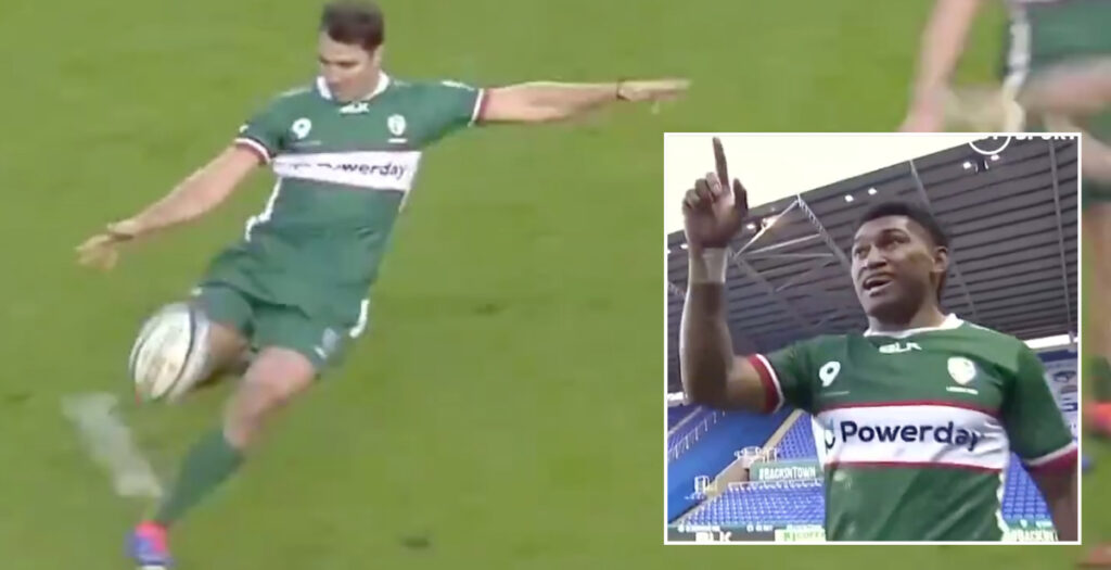WATCH: Phipps and Naholo combine for awesome London Irish score