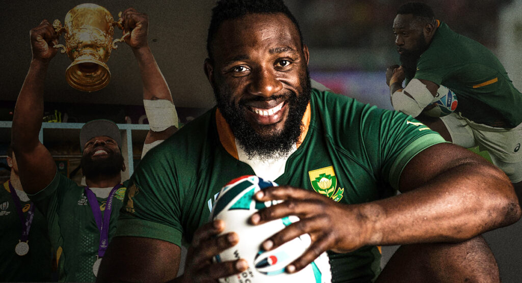 'Winning the Rugby World Cup is the perfect ending and cherry on top' - Beast Mtawarira