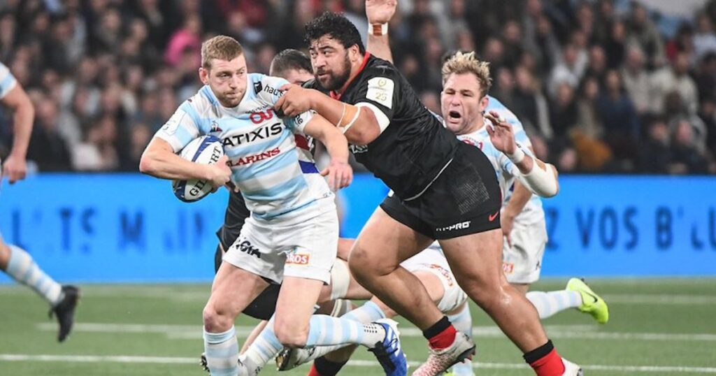 Finn Russell carves up Saracens with another magic display of skill