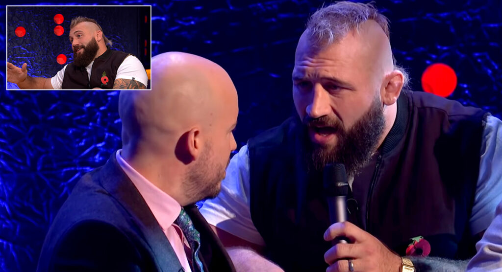 Joe Marler does Adele and talks about THAT Haka in comedy gold on Jonathan Ross Show