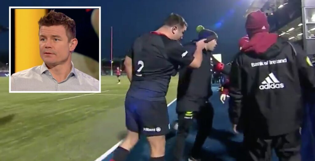 O'Driscoll: Munster medic wrong to insult Jamie George