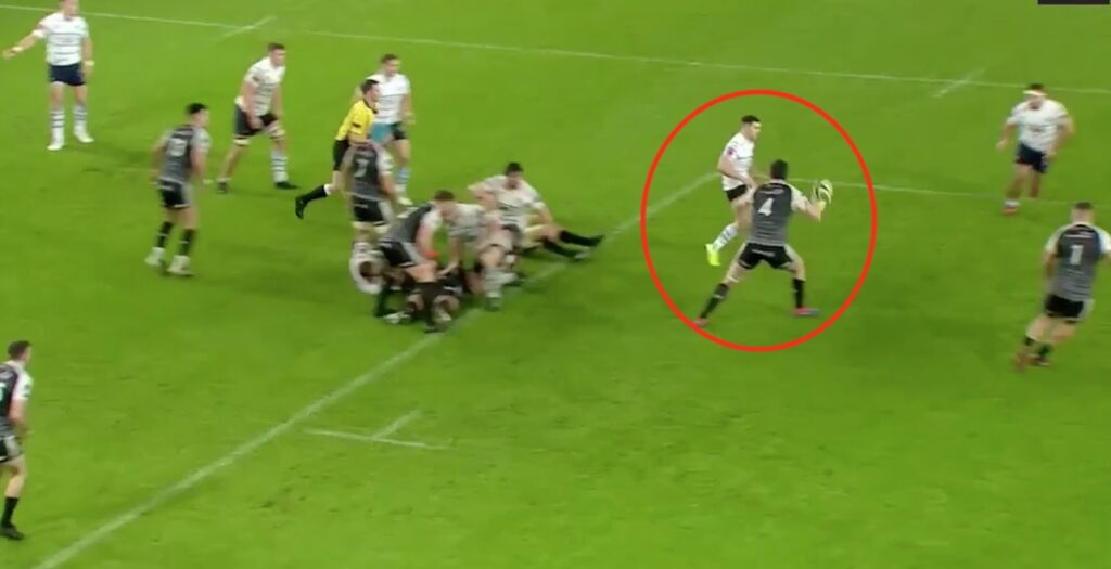 WATCH: Beautiful chip sets up fantastic match-winning try for Cardiff Blues