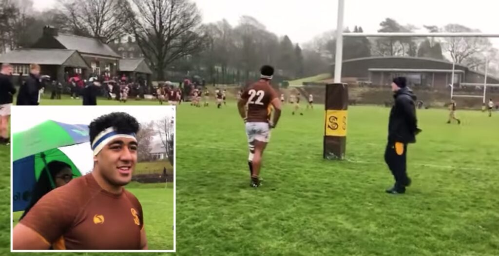 Faletau and Billy Vunipola have another cousin nobody knows about - and he is HUGE