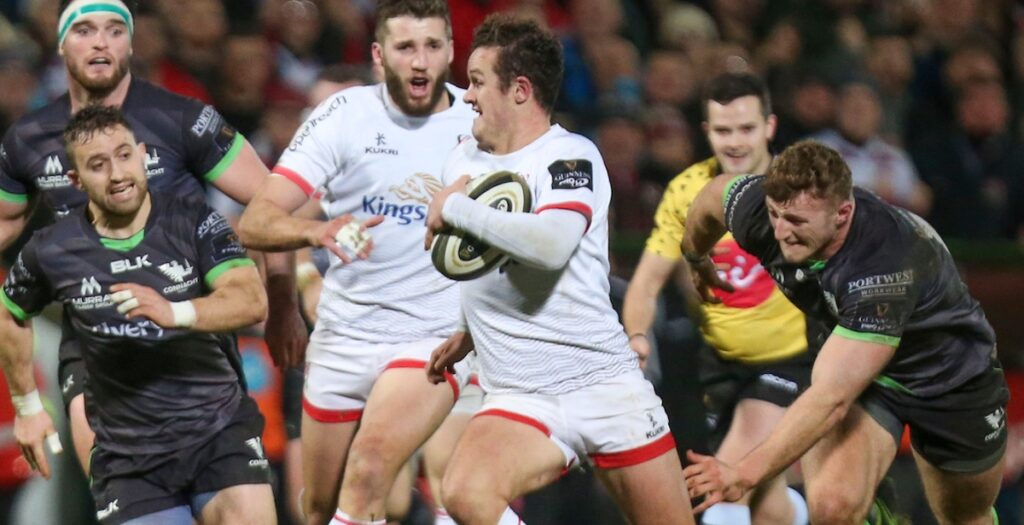 WATCH: Burns scores EPIC try for Ulster in Pro 14 win over Connacht
