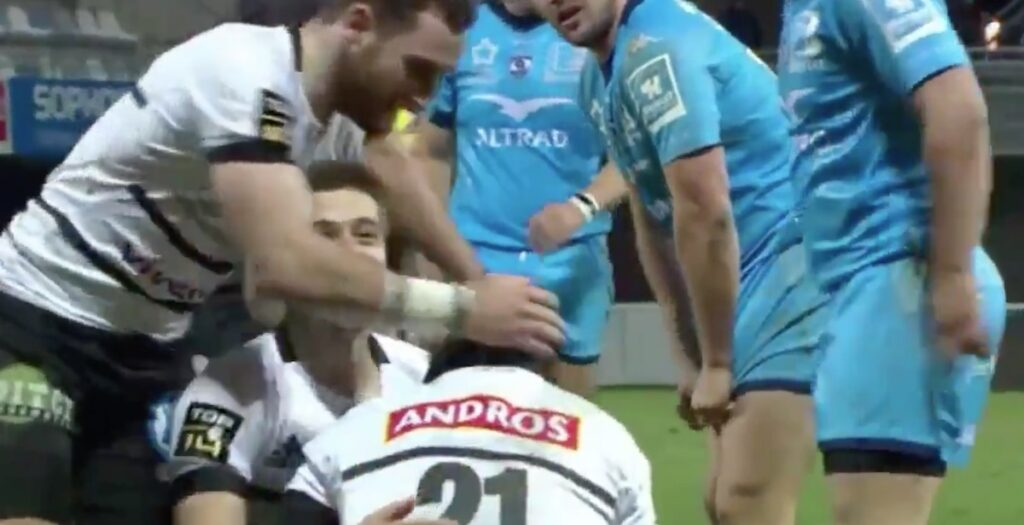 WATCH: Brive score EPIC overtime team try in Top 14
