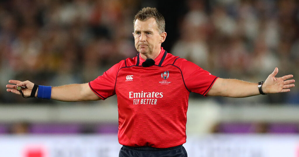 Nigel Owens strikes chord with call for change in substitutions