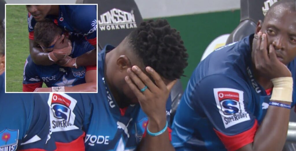 FALCON: Bulls centre takes horrible ball to face in Super Rugby opener