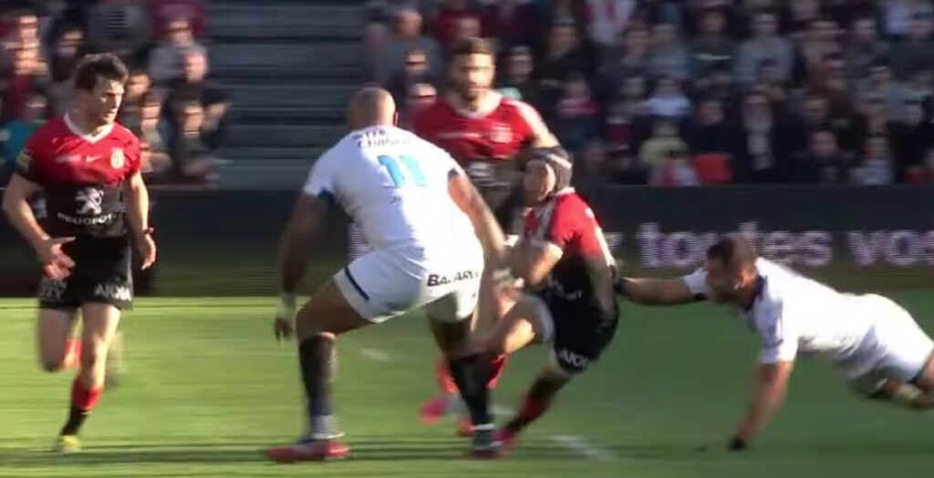 WATCH: Kolbe sets up lovely counter attack try in Top 14