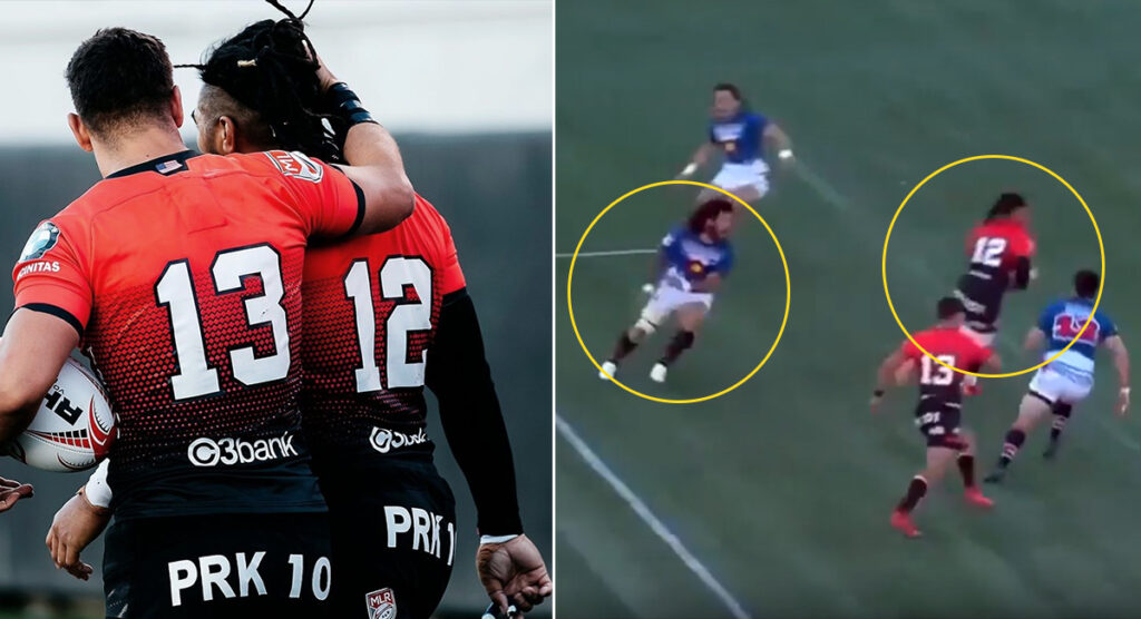 Ma'a Nonu ridiculous step burns Rene Ranger's Colorado, before gaffe makes him look human again