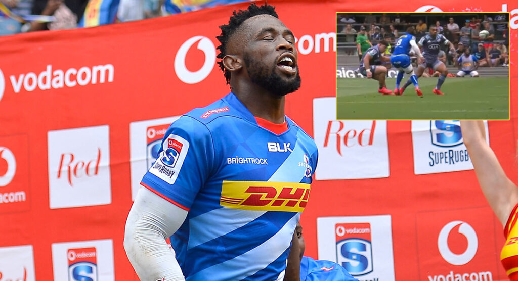 Agony for Siya Kolisi as an off the ball shot has possibly ended his season