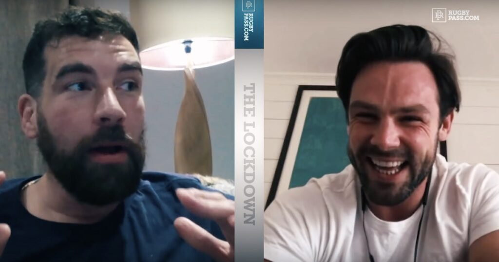 Amusing 'Lockdown' catch up but Ben Foden says New York was not reacting fast enough