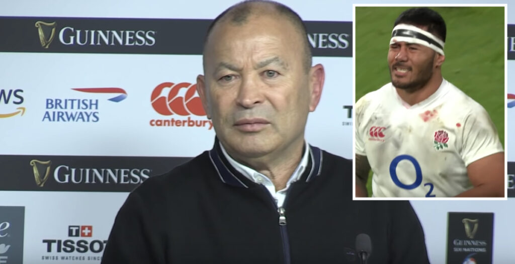 EDDIE JONES: England head coach slams Tuilagi red card saying ref lacked common sense