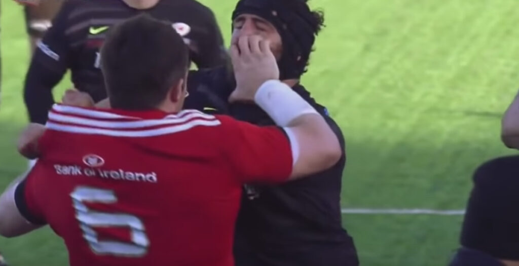 WATCH: The dirty side to PETER O'MAHONY