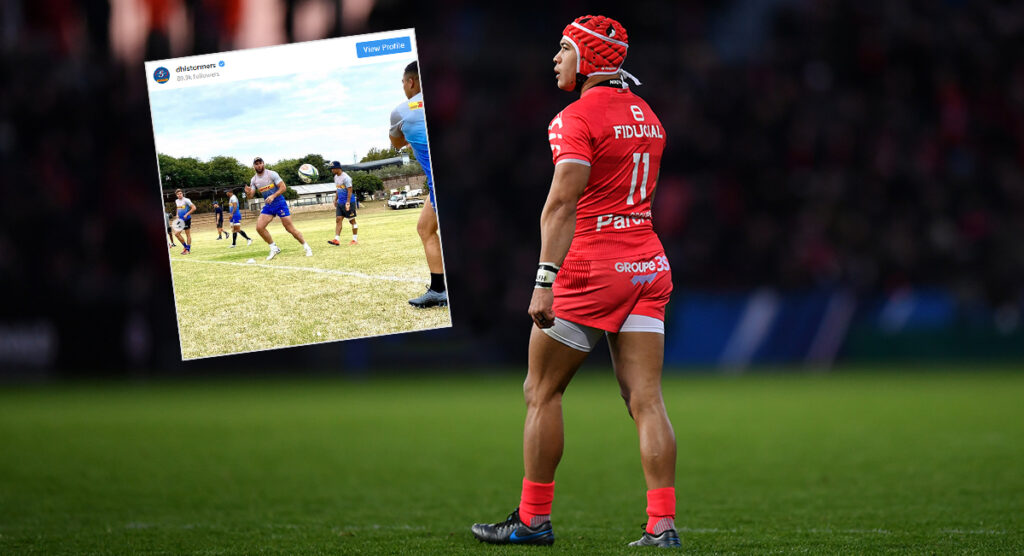 Toulouse ace Cheslin Kolbe has been spotted training with the Stormers