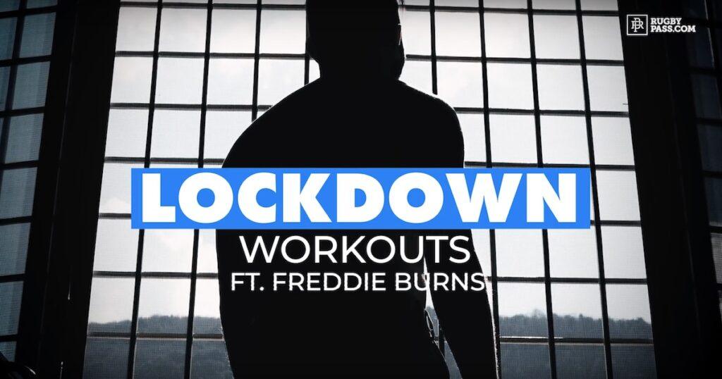 Behind the scenes of Freddie Burns' lockdown workout