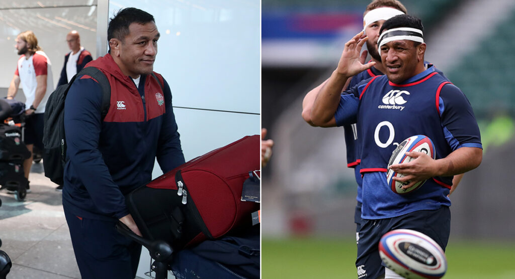 Mako Vunipola takes no chances as he self-isolates after Asia flight