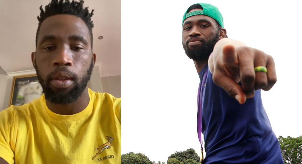 Siya Kolisi has made an urgent appeal to South Africa -