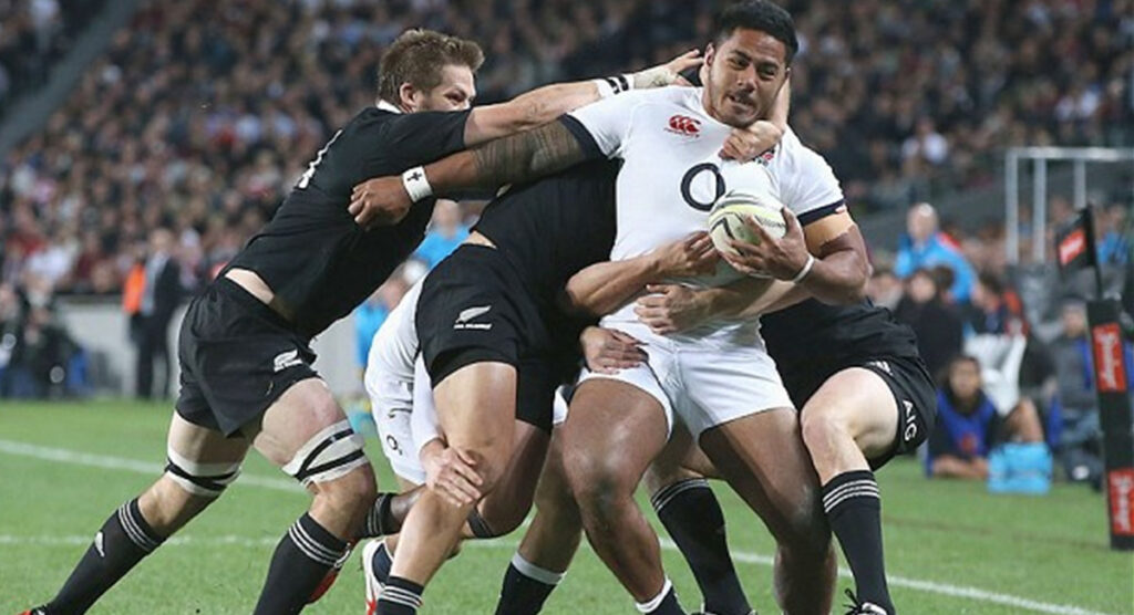 BEAST: Manu Tuilagi has run over almost everyone in rugby