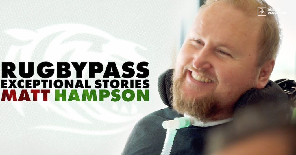 The harrowing tale of how Matt Hampson turned a devastating injury into a positive -
