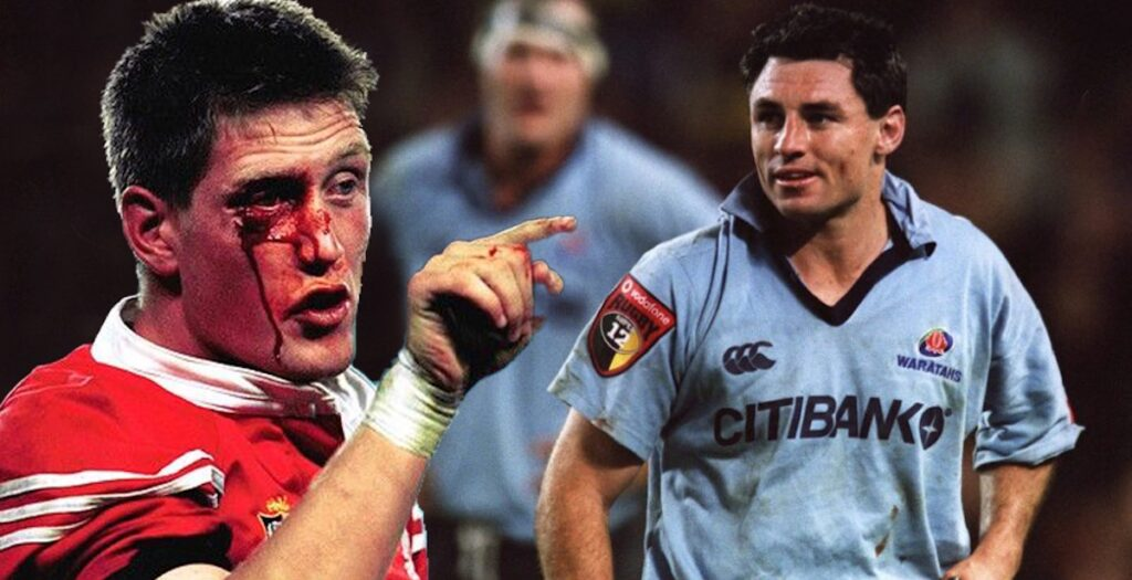 ARCHIVE: Waratahs play dirty in brutal Lions clash in 2001