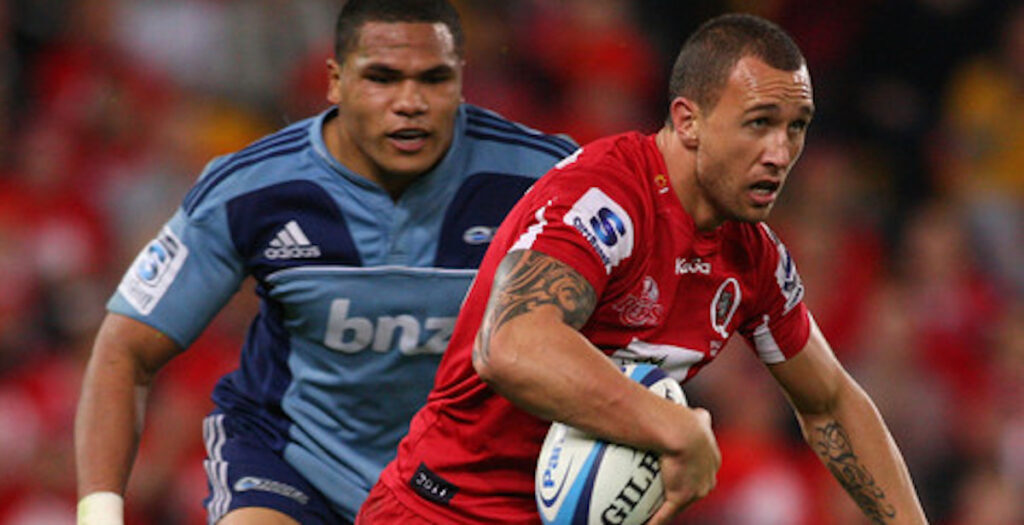 ARCHIVE: Quade Cooper dominates 2011 Super Rugby semi-final