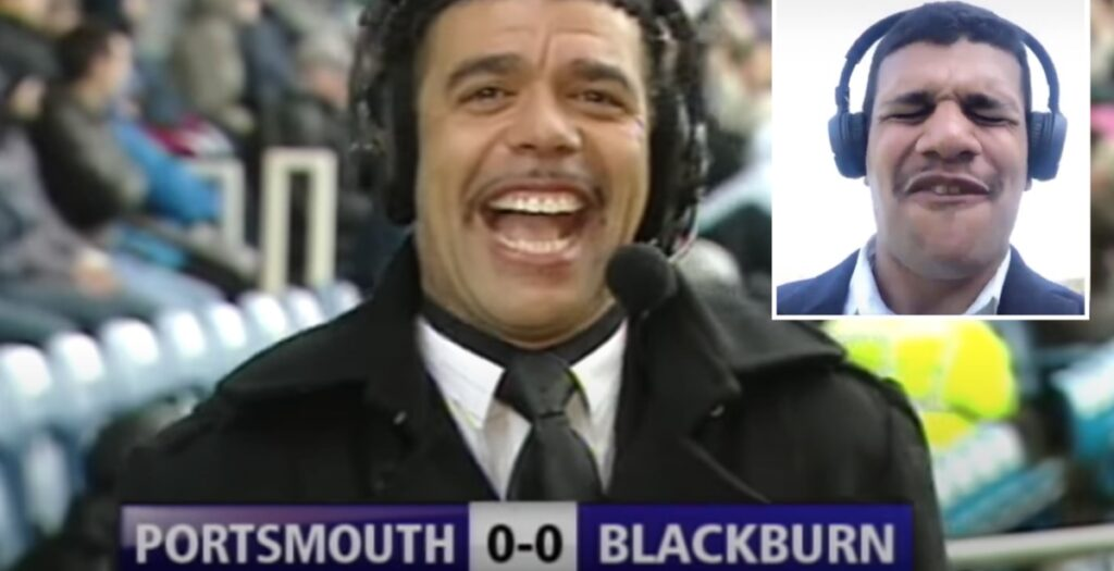 WATCH: Matavesi recreates HILARIOUS Chris Kamara blunder