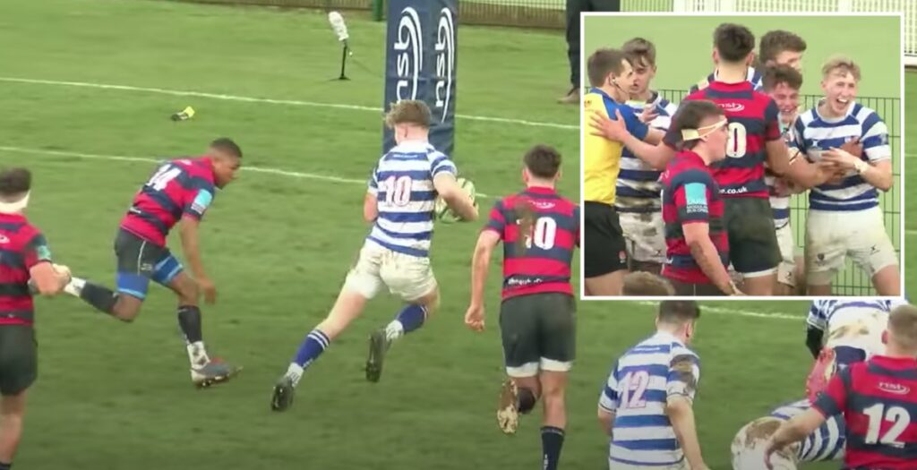 WATCH: Top 20 tries from English schoolboy and academy rugby