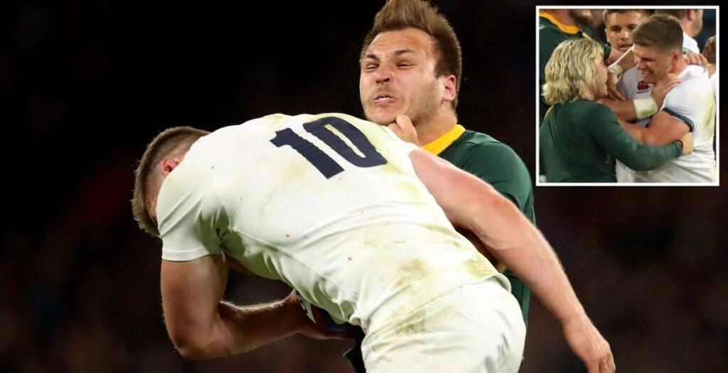 WATCH: Owen Farrell montage upsets Springboks fans ahead of 2021 tour