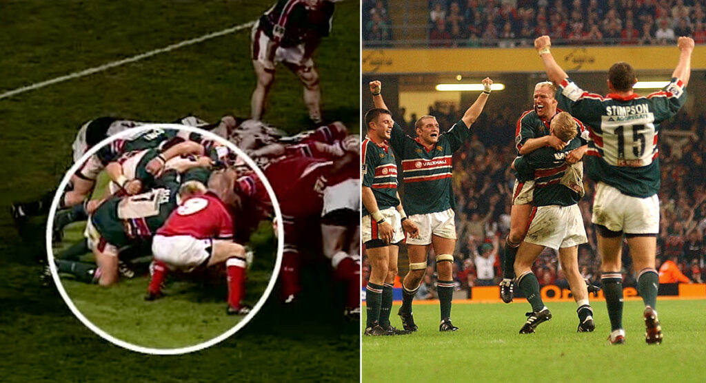 Remembering arguably the most successful piece of cheating in rugby history - 'The Hand of Back'