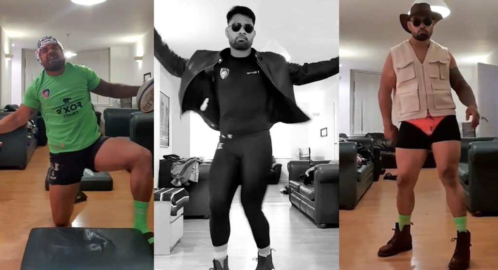 Rugby player Jordan Taufua dancing is the most outrageous, enjoyable thing you'll see today