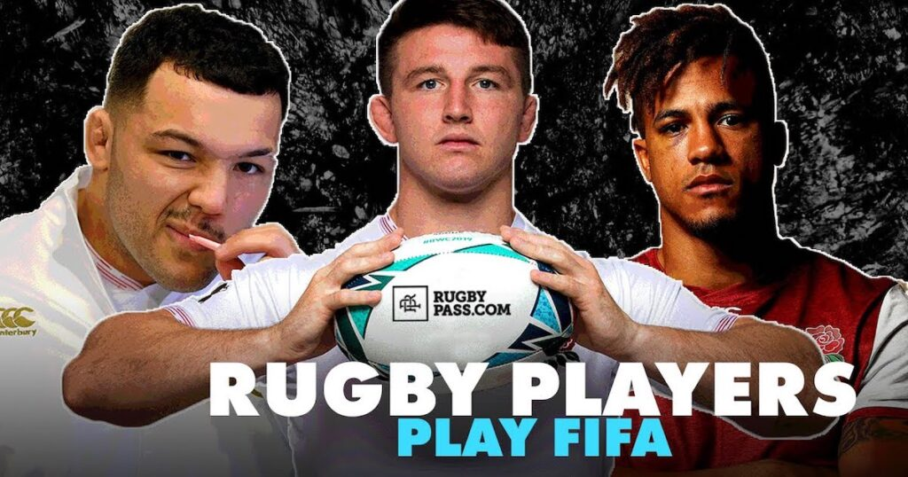 Rugby players duke it out against each other on FIFA 20 - the best bits