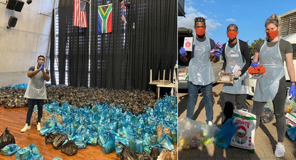 'We shall not rest until we feed as many families as physically and financially possible' - Siya Kolisi