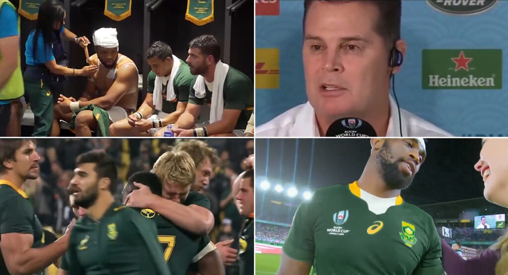 Emotive trailer released for behind the scenes documentary that covers the Springboks route to RWC victory