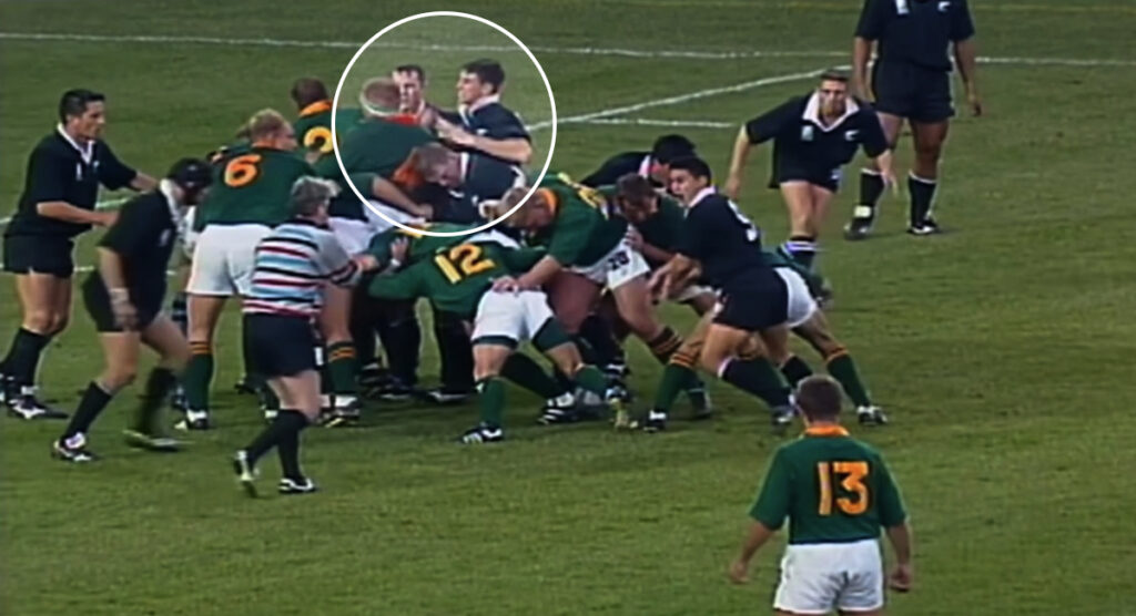 Springbok lock reveals reasons he was PUNCHED at the final whistle of 1995 Rugby World Cup win