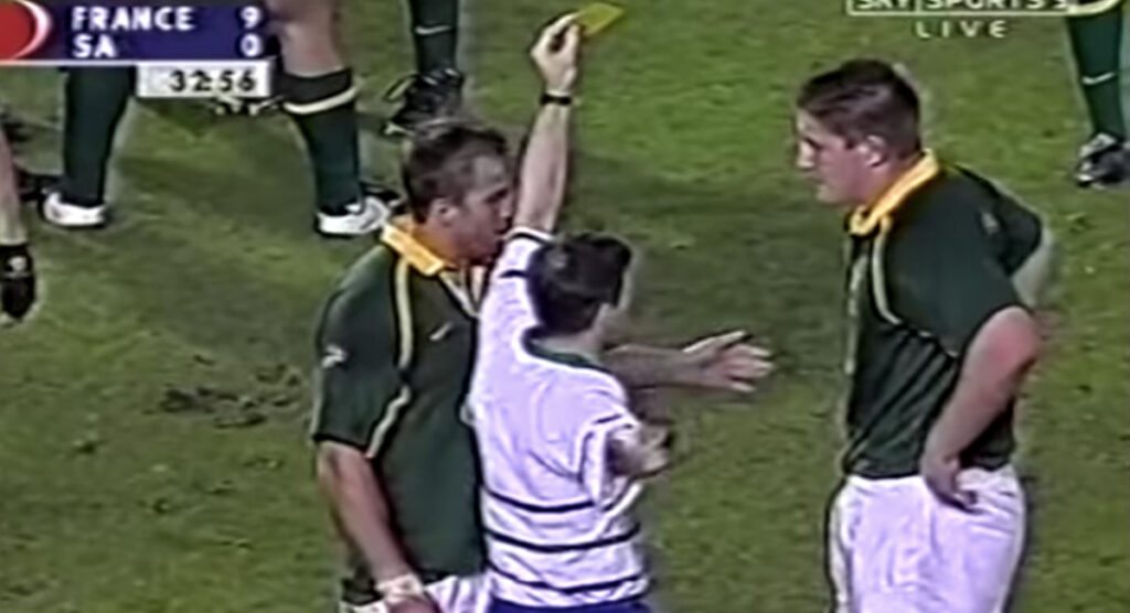 FLASHBACK: Bakkies Botha's Test debut gave us a glimpse of what was to come