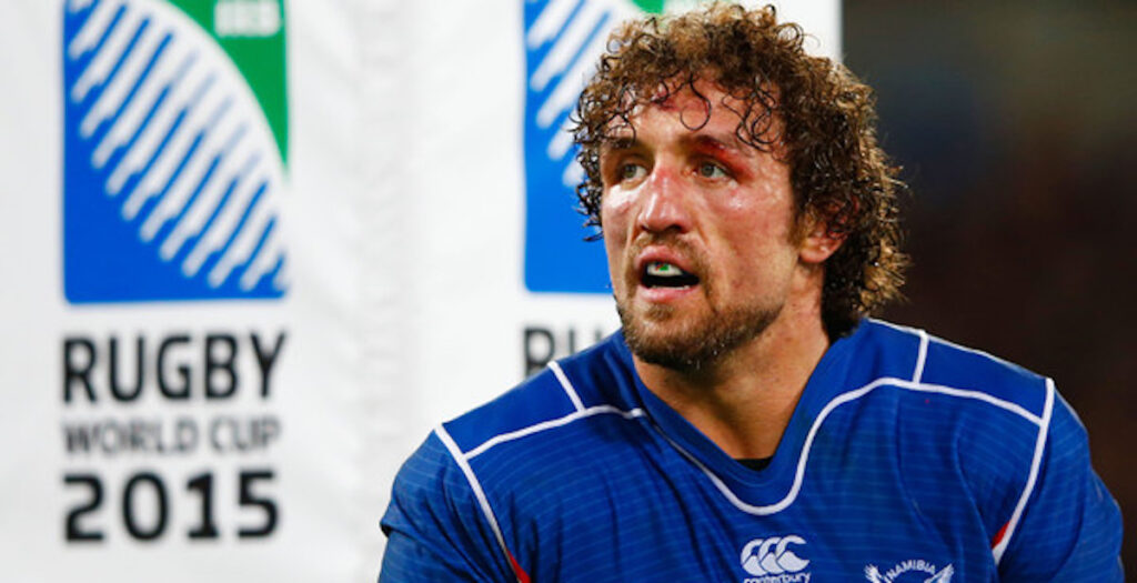 WATCH: The very best of Jacques Burger's HUGE tackles